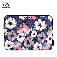 canvasartisan Watercolor Style Flower Laptop Sleeve Bag Waterproof Tablet iPad Slim Case for Macbook Air Pro 11/12/13/14/15 inch