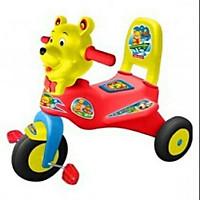 xe đạp 3 bánh có đệm lót hình con gấu