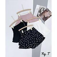 Short vải lụa 4 màu. Size S M L