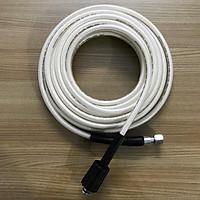 20m Ống dây rửa xe cho máy bơm xịt rửa áp lực cao:1 đầu ren 22mm 1 đầu ren 14mm