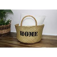 Túi xách, giỏ đựng đồ bằng lá bàng - SD6594A-1NA