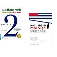 Combo 2 cuốn sách: Người Thông Minh Không Làm Việc Một Mình + Hoàn thành mọi việc không hề khó