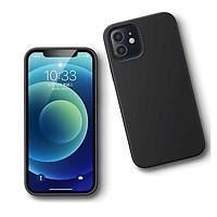 Ốp Lưng điện thoại dành cho Iphone 12 mini 5.4inch Màu Đen Silicone Ugreen 20452 LP417 hàng chính hãng