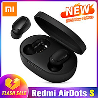 Xiaomi Redmi AirDots S/Airdots 2 TWS Wireless BT Earphones Stereo Sound Control BT V5.0 Headset Mono and Binaural Modes Mini Sports Earbuds With Dual Microphone Charging Case