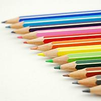 Bút chì màu 12 màu ngắn 136 01 C12
