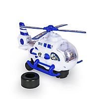 Đồ chơi máy bay trực thăng KAVY NO.8809 chạy pin có âm thanh và ánh sáng di chuyển linh hoạt cực hay cho bé yêu
