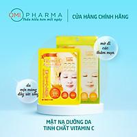 Mặt nạ dưỡng ẩm & làm sáng da chứa Vitamin C G Face Mask VC (Hộp 5 miếng)