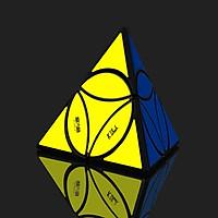 Rubik biến thể Qiyi Coin Tetrahedron Pyraminx