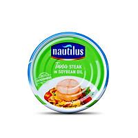 Nautilus Cá Ngừ xắt khúc ngâm dầu đậu nành (NK Thái Lan)