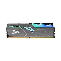 Bộ nhớ ram pc Kingmax Zeus Dragon RGB 16GB (1x16GB) DDR4 3200MHz - Hàng Chính Hãng