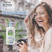 Gel rửa phụ khoa hữu cơ Corine de Farme BIO Organic Intimate Gel Sensitive 250ml