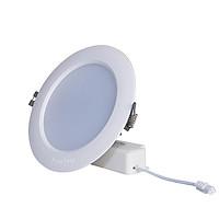 Đèn LED âm trần 12W Rạng Đông - Lỗ khoét trần 110mm, Vỏ nhôm đúc