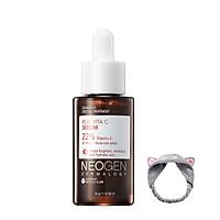 Tinh Chất Vitamin C Giảm Thâm, Làm Sáng Da Neogen Dermalogy Real Vita C Serum 32g + Tặng kèm 1 băng đô tai mèo (màu ngẫu nhiên)
