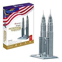Mô Hình Giấy Cubic Fun: Tháp Đôi Petronas [MC084h]