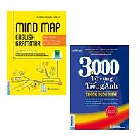 Combo sách: Mindmap English Grammar - Ngữ Pháp Tiếng Anh Bằng Sơ Đồ Tư Duy + 3000 Từ Vựng Tiếng Anh Thông Dụng Nhất
