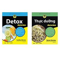 Combo Thực Dưỡng For Dummies Và Detox For Dummies tặng sổ tay vadata