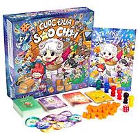 Bộ đồ chơi cuộc đua sao chổi chính hãng-board game lớp học mật ngữ