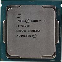 Bộ Vi xử lý CPU INTEL CORE I3 9100F Mã SRF7W  (3.60GHZ, 6M) New,Tray, Chính Hãng, Chạy trên Main H110