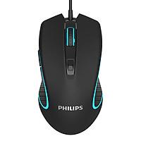 Chuột 6D Chuyên Game Cao Cấp Philips SPK9413 LED Đa Màu DPI 6400 - Hàng Chính Hãng