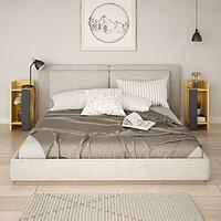 Tủ gỗ đầu giường hiện đại SMLIFE Nassau (set 2)