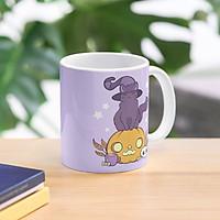 Cốc sứ Mèo bí ngô Haloween