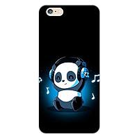 Ốp lưng dẻo cho điện thoại Apple iPhone 6 Plus / 6s Plus _Panda 05