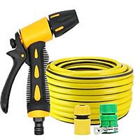 Bộ dây và vòi xịt tăng áp lực nước rửa xe oto, xe máy loại 5-20m 319498