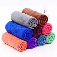 Combo 5 khăn gội đầu đa năng salon tóc spa ( 35x75cm) - Giao màu ngẫu nhiên