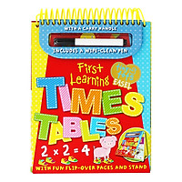 Tiny Tots Easel First Learning : Times Tables (Includes a wipe-clean Pen)