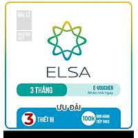 Evoucher - ELSA SPEAK English Pro - Phần mềm học nói tiếng Anh bản xứ