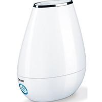 Máy phun tạo độ ẩm không khí Beurer LB37 White (có chế độ ban đêm, bình chứa 2 lít, phòng 20m2) - Hàng chính hãng