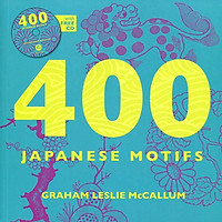 400 Japanese Motifs (with FREE CD)