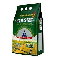 Gạo ST25 Vinaseed Túi 5Kg - Đặc Sản Sóc Trăng, Sản Xuất Từ Vùng Lúa Tôm - Cơm mềm dẻo, vị đậm ngọt, thơm đặc trưng
