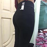 Quần legging nữ nâng mông cạp cao gen bụng siêu tôn dáng