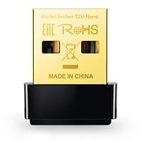 USB mạng Wi-Fi băng tần kép - Archer T2U Nano - TP-Link T2U Nano - Bộ chuyển đổi USB Wi-Fi Nano AC600 - Hàng Chính Hãng