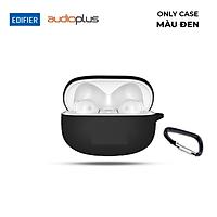 Vỏ bọc bảo vệ hộp sạc tai nghe bluetooth EDIFIER TWS 330NB / Fit Pods bằng silicone chống bụi bẩn có kèm móc khóa