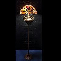 Đèn sàn trang trí Tiffany đá mã não 40×165