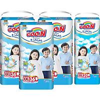 Combo 3 Gói Tã Quần Goo.n Premium Cực Đại XXL36 (36 Miếng) - Tặng 1 Tã Quần Đại XXL20 (20 Miếng)