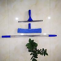 Bộ dụng cụ lau kính inox 1,2m, bông lau kính inox 35cm, tay gạt kính inox 35cm