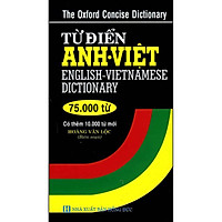 Từ Điển Anh - Việt 75.000 từ (Tái Bản)