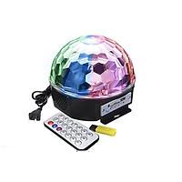 Đèn LED vũ trường cảm ứng nhạc xoay 7 màu , Nhiều Màu Sắc,  đa  chức năng  phát nhạc  kết nối Bluetooth , USB ,  thẻ nhớ