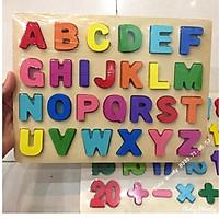 COMBO Bảng Chữ Cái và Số đếm cho bé