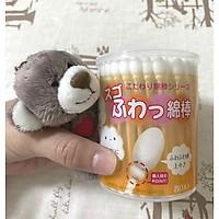 Hộp 110 tăm bông vệ sinh tai kháng khuẩn Sanyo - Made in Japan