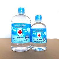 Combo Nước súc miệng Dr. Muối truyền thống (1 chai 1000ml + 1 chai 500ml)