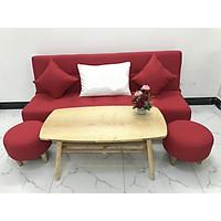 Bộ ghế sofa giường sofa bed phong khách linco15 sofa nệm, sofa ghế băng