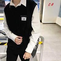 Áo gile hàn+áo sơ mi nam nữ C&H
