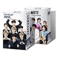 Lomo card BTS hộp thẻ ảnh BTS