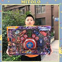 Đồ chơi cho bé mô hình siêu nhân  biệt đội siêu anh hùng 915-207