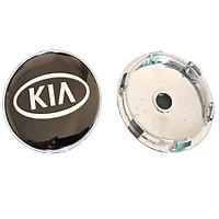 Logo chụp mâm, ốp lazang bánh xe ô tô Kia đường kính 60mm Kia-60