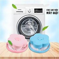 Combo 2 Phao lọc cặn bẩn máy giặt, túi vợt lông sợi, lọc mọi chất bẩn trong máy giặt nhà bạn Mihoco 2011-Giao màu ngẫu nhiên